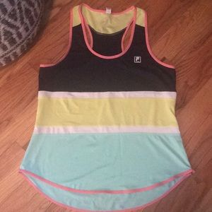 Super cute FILA work out top. Excellent condition!